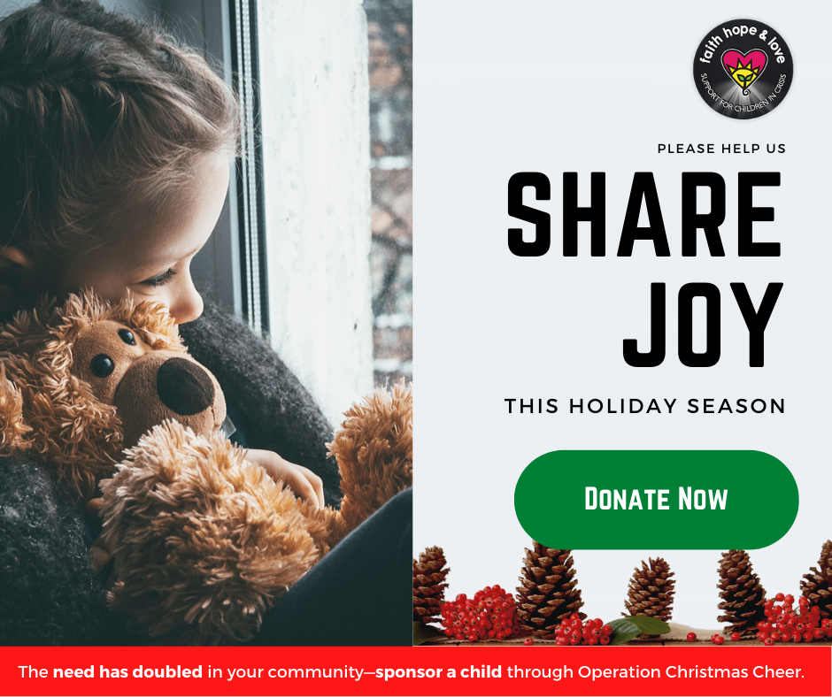 Share Joy. Donate Now
